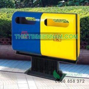 thùng rác ngoài trời thùng rác công cộng