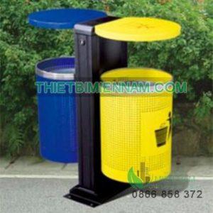 thùng rác ngoài trời, thùng rác công cộng