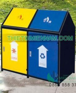 thùng rác công cộng, thùng rác ngoài trời