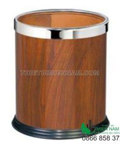 Thùng rác giả gỗ dùng cho nhà khách