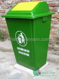 Thùng rác 60L compesite cho bệnh viện