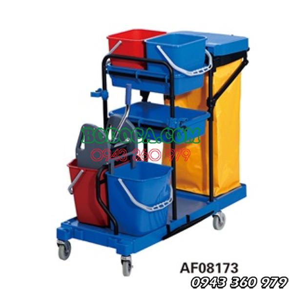Xe đẩy dọn vệ sinh bodoca AF08173