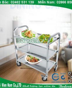 Xe đẩy thức ăn 3 tầng bodoca AF08164