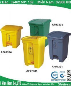 Thùng rác đạp chân nhập khẩu AF07330