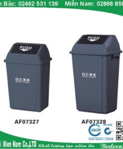 Thùng rác bập bênh 40l cho nhà xưởng