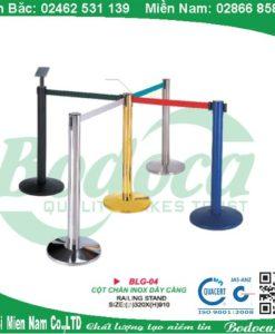 Cột chắn inox dây kéo căng dài 2m,3m và 5m
