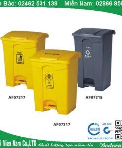 Thùng rác đạp chân cho bệnh viện AF07331