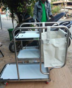 Cung cáp xe làm vệ sinh bệnh viện FW-08