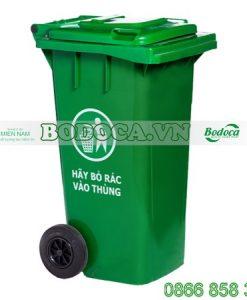 Thùng rác nhựa 240L nhiều màu
